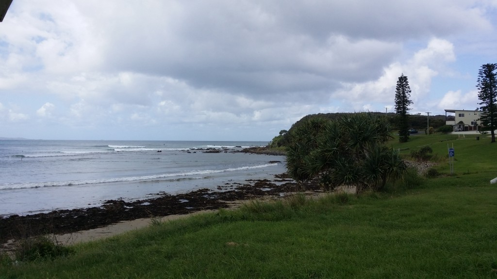 Arrawarra Headland - looks a popular spot for surfers