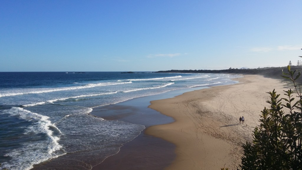 Sawtell Beach - thank God!